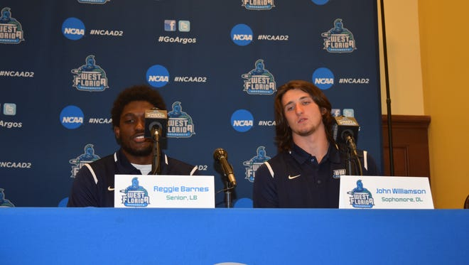 UWF players at media day