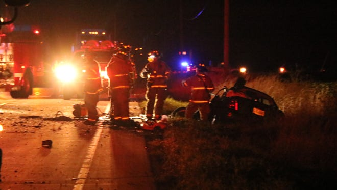 Terry J. Martin of Ashland was killed when his car struck a semi on U.S. 250 in Clear Creek Township.