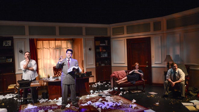 """Moonlight and Magnolias"" runs through Sept. 18 at the Rubicon."