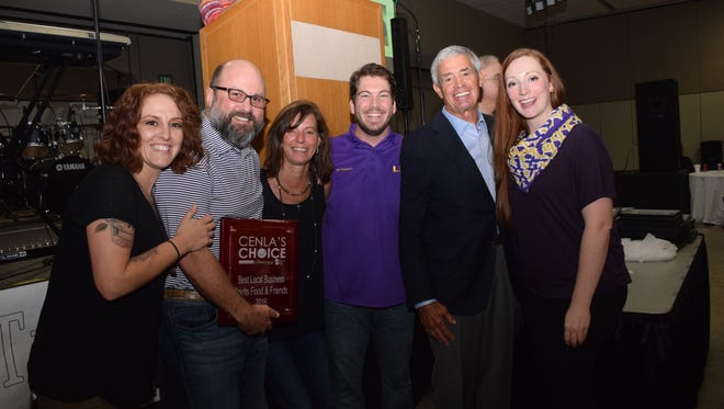 Cenla's Choice Award winners were announced Thursday evening at the Cenla's Choice Awards Party, presented by The Town Talk and Choctaw Pines Casino at the Alexandria Riverfront Center. Former New Orleans Saints head coach Jim Mora was the guest speaker and congratulated winners on their awards. A portion of the proceeds will go to benefit the CASA program aiding local youth.