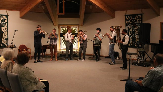Federspiel, an Austrian brass ensemble, performed as part of the Musical Arts Series at Firelands Presbyterian in Port Clinton on Wednesday.