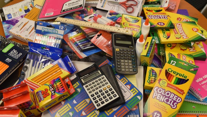 Items like these could make a difference in the lives of a child facing homelessness.