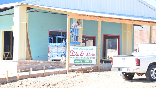Dis and Dem is expected to open soon in West Hattiesburg.