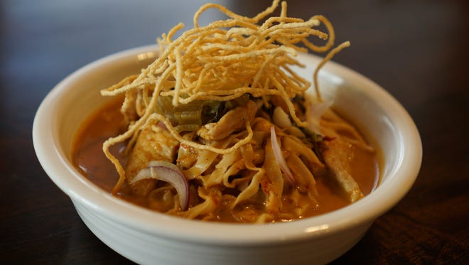 The Kao Soi is a curry dish at Cafe de Bangkok in the Campus West area of Fort Collins.