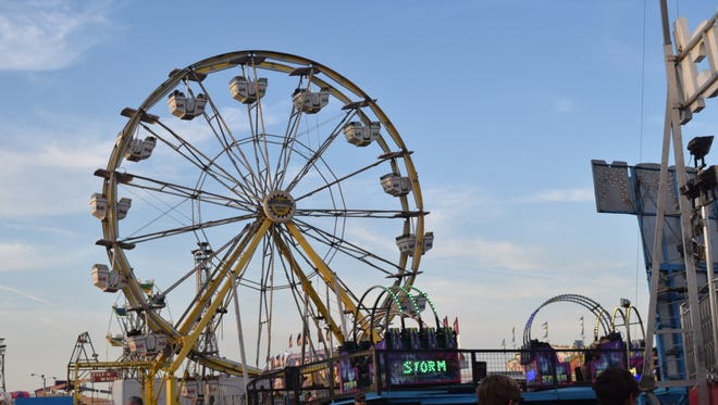 The Rapides Parish Fair runs Oct. 11-15.