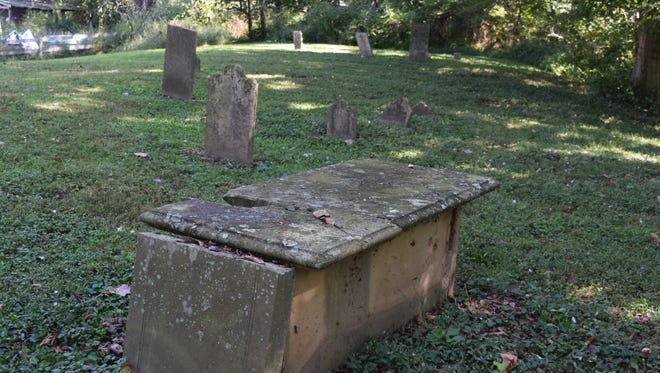 Some of the older cemeteries, like this one in Westport, have stone like vaults on top of the ground. These resemble early grave sites found in older cemeteries of historic cities such New Orleans and St. Augustine.