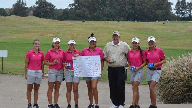 The UTEP women's golf team is having a strong season.