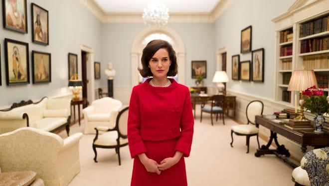 "Dec. 23: Natalie Portman channels former first lady Jacqueline Kennedy in ""Jackie."""