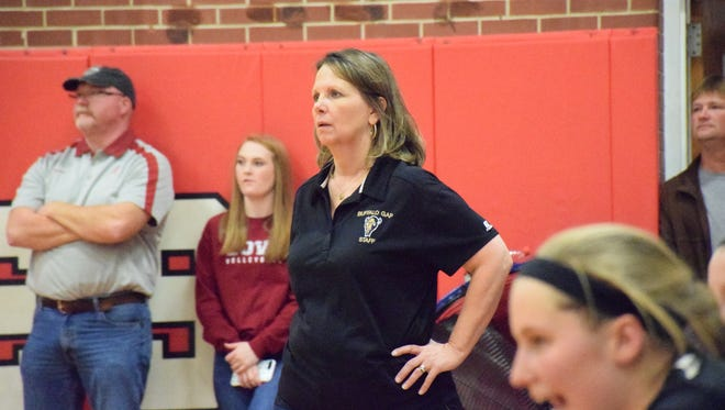 Elizabeth Ashby helped guide her Buffalo Gap volleyball team to its first ever state tournament appearance this season.