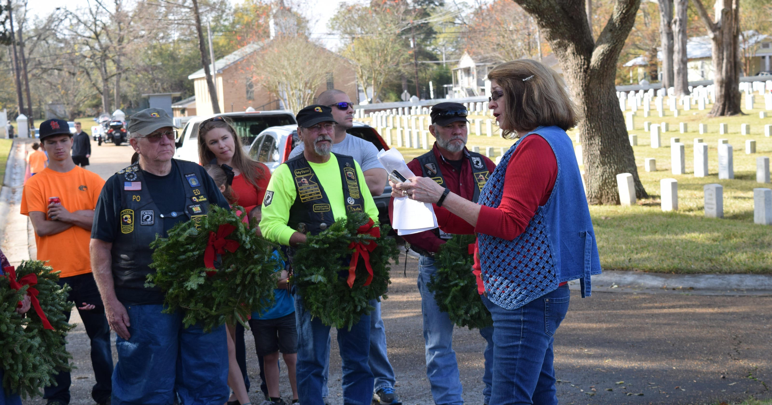 Wreaths Across America' continues to grow in Central Louisiana