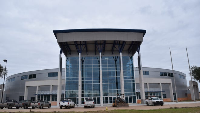 Renovations of the Rapides Parish Coliseum are near completion.