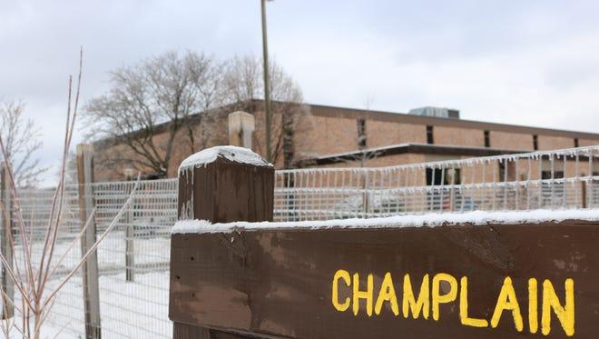 Champlain Elementary School in Burlington on Wednesday afternoon, Jan. 25, 2017.