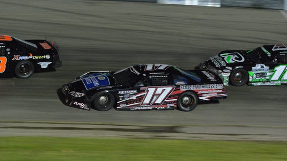 Grant Griesbach (No. 17 car) was named Rookie of the