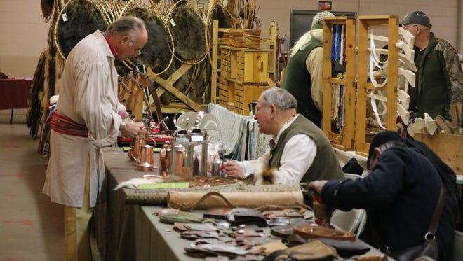History enthusiasts from around the country flock to Fremont for the 27th annual Living History Trade Fair.