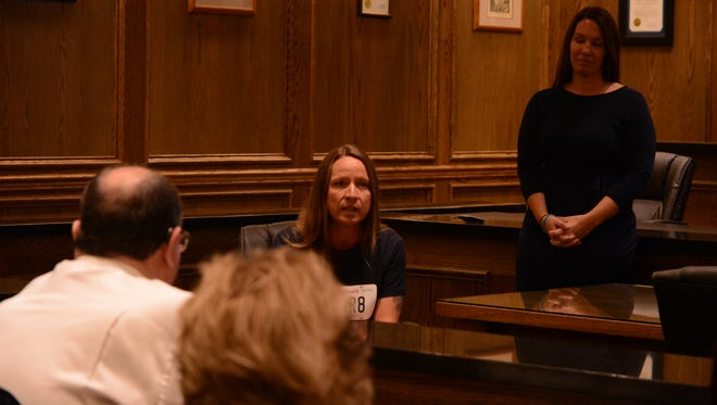 Kimberly Long, center, was exonerated of the 2003 murder of her boyfriend through the help of the California Innocence Project.