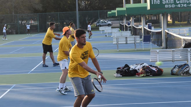 For tennis teams like No. 1-ranked Tyler (Texas) Junior College, which won Sunday's featured tournament match against defending national champ ASA-MIami, spending spring break for a new tournament in Pensacola proved worthwhile.