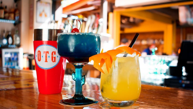 Old Town Gringos drinks (L to R): The Maddon's Moxy and San Francisco Mule.