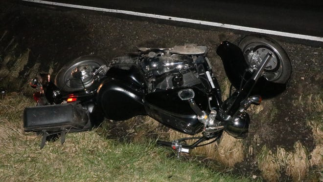 A Nova man died of his injuries after his motorcycle struck a deer on Ohio 302 between Nankin and Savannah on Saturday, April 8, 2017. Mark W. Bainbridge, 47, died Sunday afternoon.