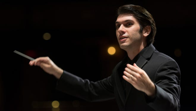 Knoxville Symphony Orchestra Music Director Aram Demirjian will lead the orchestra during its performance of  Beethoven's Symphony No. 5.
