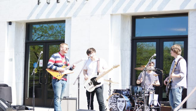 Wild Ire performs at the State Capitol State Park. They will play at 5 p.m. June 15 at CCTV and 10 p.m. June 17 at IKE Box during Cherry City Music Festival June 15-17. The CCTV concert is free. The IKE Box concert costs $5.