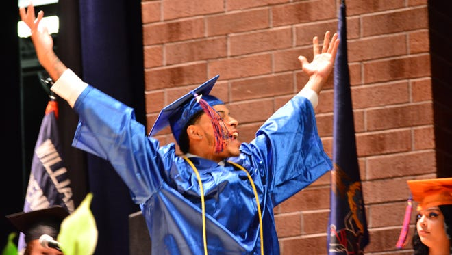 William Penn High held graduation ceremonies at the school Tuesday, June 6, 2017. Bil Bowden photo