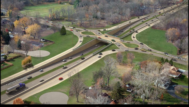Hamilton County is considering a $36 million roundabout interchange at 146th Street and Allisonville Road.