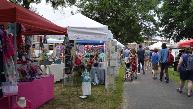 The Franklin Street Bazaar will open this Saturday, July 4 and run every Saturday through Aug. 29.