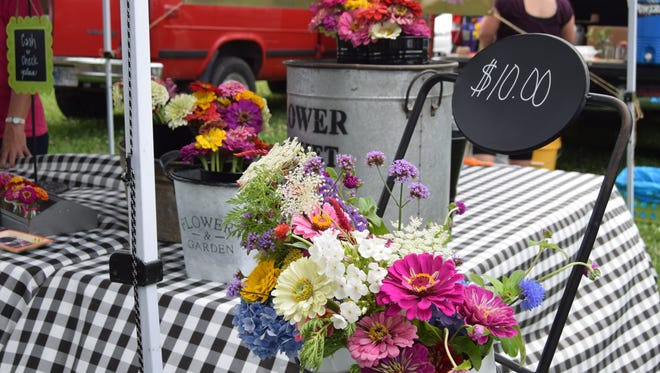 The Franklin Street Bazaar hosts more than 80 local vendors every Saturday from June 17 to September 19.