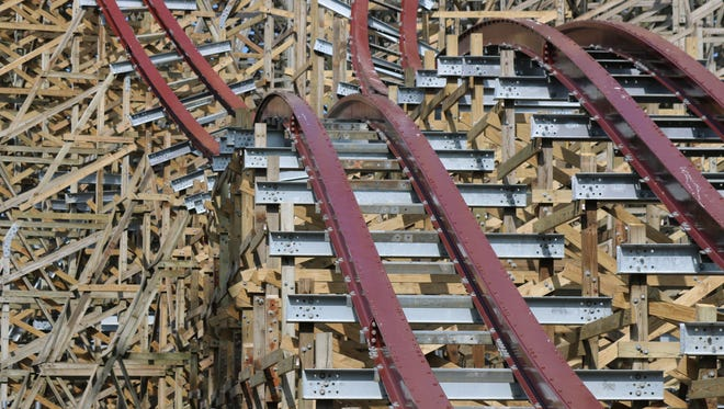 Cedar Point transformed the roller coaster formerly known as Mean Streak into the record breaking hyper-hybrid, Steel Vengeance, debuting this year.