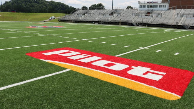 South-Doyle received their turf from the Field of Dreams project this year. It is one of nine fields that have received turf as a gift from the Haslem family and Pilot.