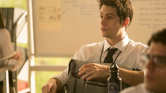 Stiles is an eager student on the first day of his