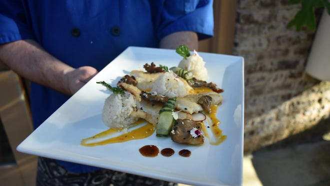 Lionfish fillets served by Jackson's Steakhouse in Pensacola are pictured. The Fish House's sixth annual Toast of the Coast series will continue Aug.23 with a class on how to clean, filet and prepare lionfish.