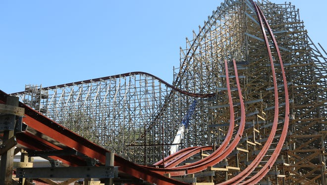 Steel Vengeance, the world's first hybrid coaster to top 200 feet in height, will open at Cedar Point's Frontier Town in 2018.