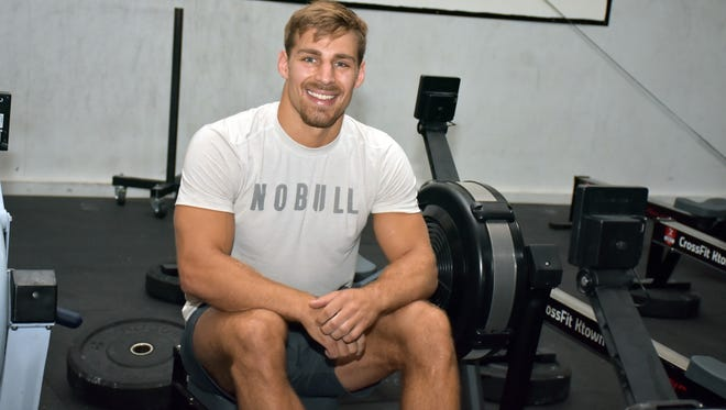 Alex Anderson was recently named the ninth Fittest Man in the World.