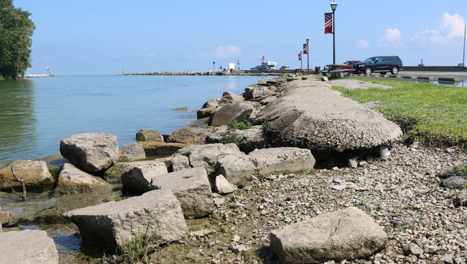 The city of Port Clinton was recently awarded a $1.9 million grant for an upcoming river walk project, which includes revitalizing the Jefferson Street pier with a new full-service marina.