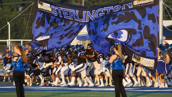 Sterlington, the top overall seed in Class 3A, starts the playoffs at Panther Field against Baker.