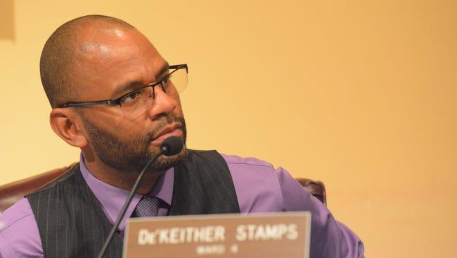 Ward 4 Councilman De'Keither Stamps