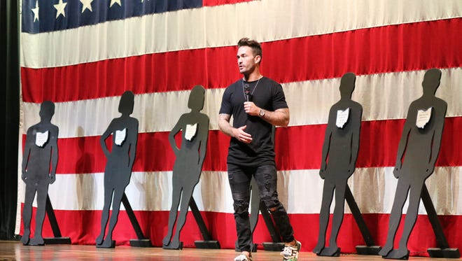 Tony Hoffman, a former BMX Elite Pro whose drug addition landed him in prison before turning his life around, is returning to Ottawa County to speak with middle school students.