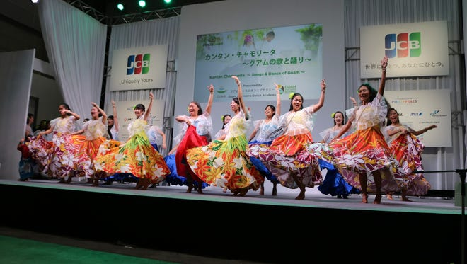Guam dancers peform at the Tourism EXPO Japan 2017 from Sept. 21-24.