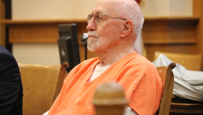 James D. Allen, 78, was sentenced to 5 years in prison Thursday. He pleaded guilty to rape after video of the incident in August was recorded on Snapchat and sent to police.