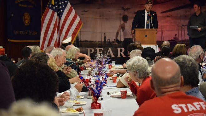Veterans were honored on Nov. 11, 2017 during the Operation Thank You breakfast at the American Legion Post 13.