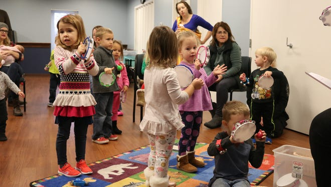 Dozens of local children had a blast learning all about sound at Ida Rupp's Preschool Explorer Lab on Tuesday.