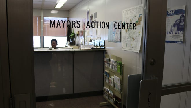 The Mayor's Action Center.