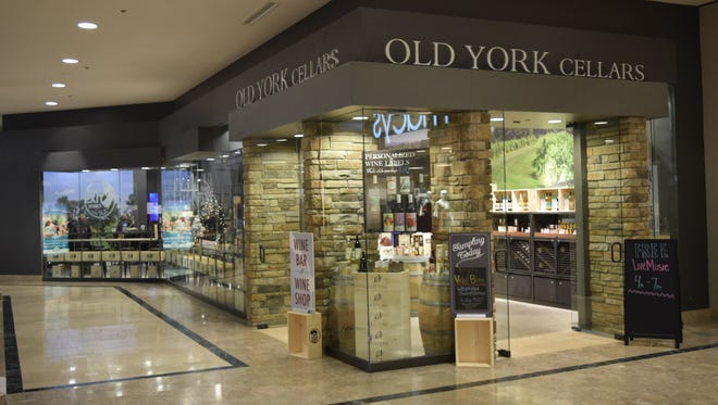 Old York Cellars has opened a new lounge in the Bridgewater Commons next to the second-floor entrance to Macy's.