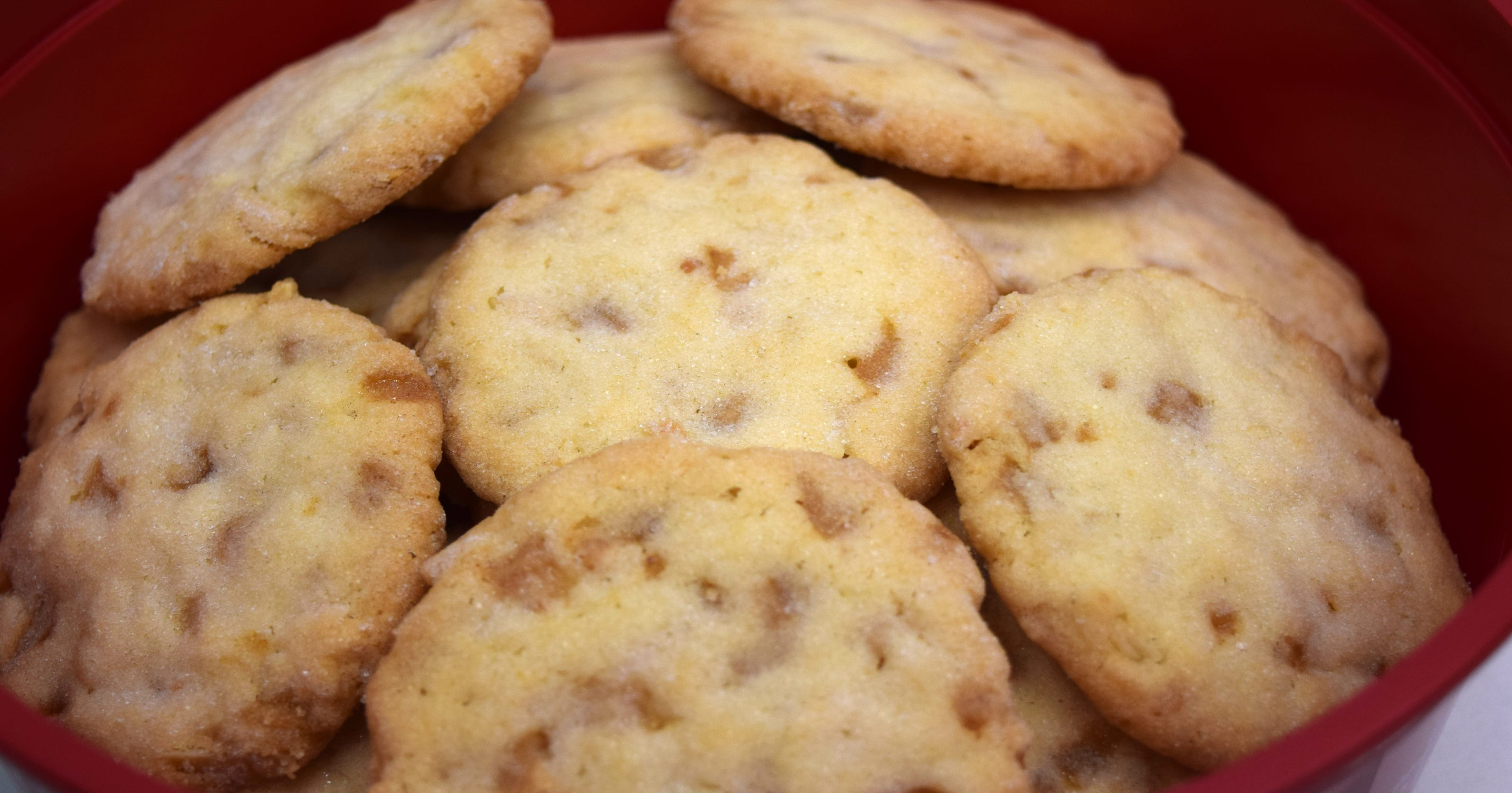 12 Days Of Cookies Crispy Almond Cookies Are A Simple Delight