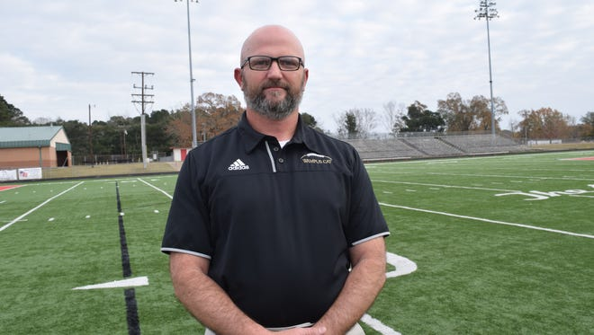 Leesville coach Robbie Causey was named the Class 4A All-State Football Coach of the Year.