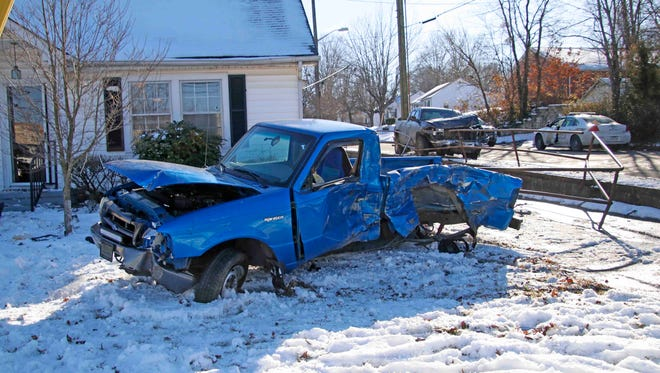A wreck Thursday afternoon at Crossland Avenue and Talley Road sent one man to the hospital in critical condition.