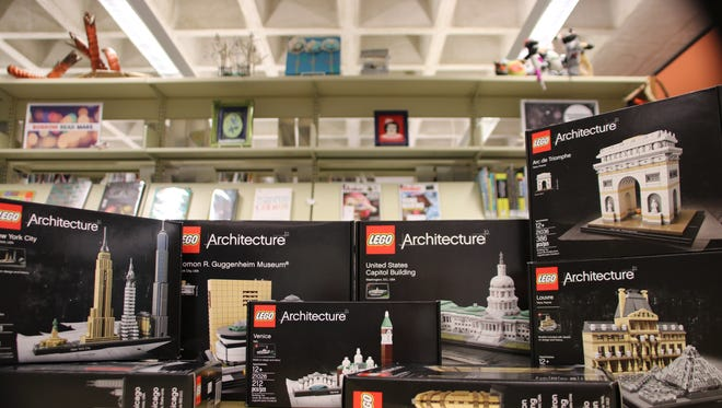 Adults and teens can try out Mead Public Library's LEGO Architecture kits and more during LEGO Night from 5-7 p.m., on Monday Feb. 26, in the Imaginarium.