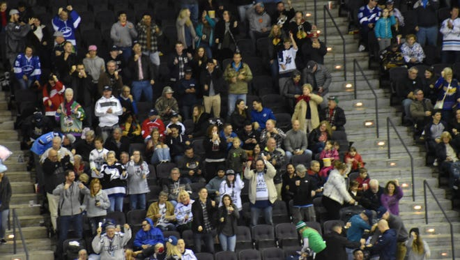 Ice Flyers fans will be able to rejoin with the team on March 2-3 for the $5 weekend games against Roanoke, after both the team and SMG, which manages the Pensacola Bay Center, announced ice will be reinstalled on Monday.