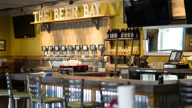 """The Boatyard Bar and Grill, located at 7164 N. Ninth Ave., was revitalized thanks to a joint effort between the owners and a tv show called """"Bar Rescue."""" The entire bar was gutted and received a facelift, a novel self-pour station and a new menu."""